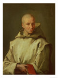 Portrait of Dom Baudouin Du Basset of Gaillon, 1716 Giclee Print by Jean Restout II