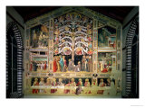 The Tree of Life and the Last Supper, 1360 Giclee Print by Taddeo Gaddi