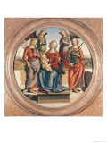 Madonna and Child with St. Rose and Catherine of Alexandra Giclee Print by Pietro Perugino