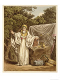 An Arch Druid in His Judicial Habit Giclee Print by Charles Hamilton Smith