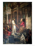 Christ Before Pilate Giclee Print by Jacopo Robusti Tintoretto