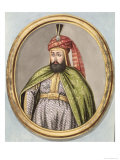 "Amurath IV Sultan 1623-40, from ""A Series of Portraits of the Emperors of Turkey,"" 1808 Giclee Print by John Young"