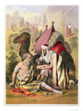 The Good Samaritan, from a Bible Printed by Edward Gover, 1870s Giclee Print by Siegfried Detler Bendixen