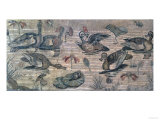 Scene of Waterfowl on the Nile from the House of the Faun, Pompeii, 2nd Century BC Giclee Print