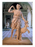 "Artemis the Huntress, Known as the ""Diana of Versailles"", Giclee Print"