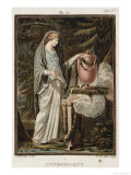 """Andromache, Costume for """"Andromache"""" Giclee Print by Philippe Chery"""