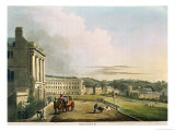 "The Crescent, from ""Bath Illustrated by a Series of Views"" Giclee Print by John Claude Nattes"