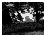 Irish Castle B&W Photographic Print by Cynthia Douthard