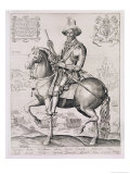 Portrait of Robert Devereux 2nd Earl of Essex, 1599 Giclee Print by Thomas Cockson