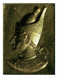 Portrait Plaque Depicting One of the Ptolemies Giclee Print by Ptolemaic Period Egyptian