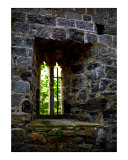Castle Window Photographic Print by Cynthia Douthard
