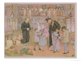 "The Toy Shop, from ""The Book of Shops,"" 1899 Giclee Print by Francis Donkin Bedford"