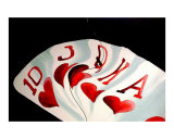 Royal Flush 108 Giclee Print by Teo Alfonso