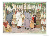 "The Poulterer, from ""The Book of Shops,"" 1899 Giclee Print by Francis Donkin Bedford"