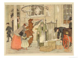 "The Post Office, from ""The Book of Shops,"" 1899 Giclee Print by Francis Donkin Bedford"