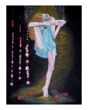 Absorta en mi Yoga Giclee Print by Mareen Haschke