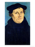 Portrait of Martin Luther 1529 Giclee Print by Lucas Cranach the Elder