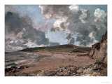 Weymouth Bay with Jordan Hill, circa 1816 Giclee Print by John Constable