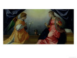The Annunciation Giclee Print by Andrea del Sarto 