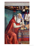 St. Jerome in His Study, 1480 Giclée-tryk af Domenico Ghirlandaio