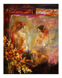 Two Nudes Giclee Print by Pol Ledent