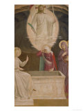 The Resurrection of Christ and the Pious Women at the Sepulchre, 1442 Giclee Print by  Fra Angelico
