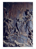 St. Anthony Distributing Alms, Relief from the Salviati Chapel Giclee Print by Giambologna