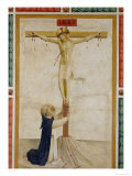 Crucifixion with St. Dominic Giclee Print by Fra Angelico 