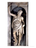 St. John the Baptist, Niche from the Salviati Chapel Giclee Print by  Giambologna