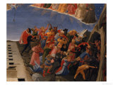 The Last Judgement, Detail of the Damned, circa 1431 Giclee Print by  Fra Angelico