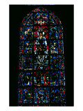 Window Depicting Notre Dame De La Belle Verriere in the South Choir, 13th Century Giclee Print
