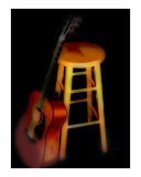 The Guitarist Photographic Print by J Moran