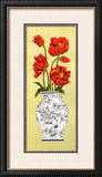 Chinois Tulip Petite Print by Judy Shelby