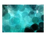 Green Circles Photographic Print by Harveys Digital Paint