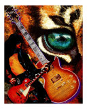 The Player - Guitar Giclee Print by Rhonda Watson