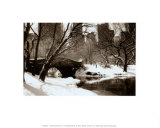 Central Park, Bridge Prints by Igor Maloratsky