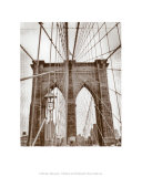 Ponte do Brooklyn, Nova York Pôsters por Igor Maloratsky