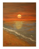 Sun Giclee Print by Jan Smith