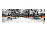 The Gates along Poet's Walk, Central Park Posters by Igor Maloratsky