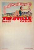 Trouville La Reine Des Plages (c.1933) Collectable Print