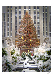 Christmas Tree at Rockefeller Center Arte por Igor Maloratsky