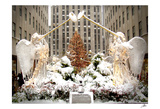 Angels at Rockefeller Center Pôsters por Igor Maloratsky