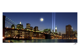 Memorial Lights Panorama Prints by Igor Maloratsky