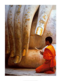 The Hand of Buddha Art by Hugh Sitton