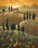 Tuscan Sunflowers I Print by Marshall Banks