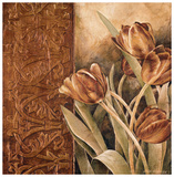 Copper Tulips I Prints by Linda Thompson
