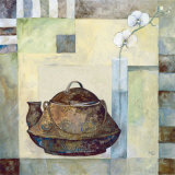 Asian Teapot II Poster by Marietta Cohen