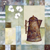 Asian Teapot I Prints by Marietta Cohen