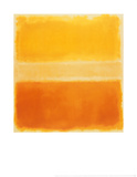 Yellow and Gold Posters by Mark Rothko