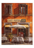 Cafe Roma Psters por Malcolm Surridge